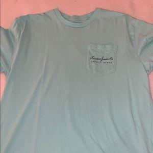Lauren James teal shirt